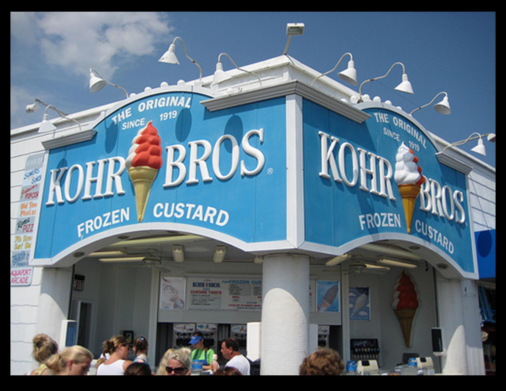 kohr bros. ice cream