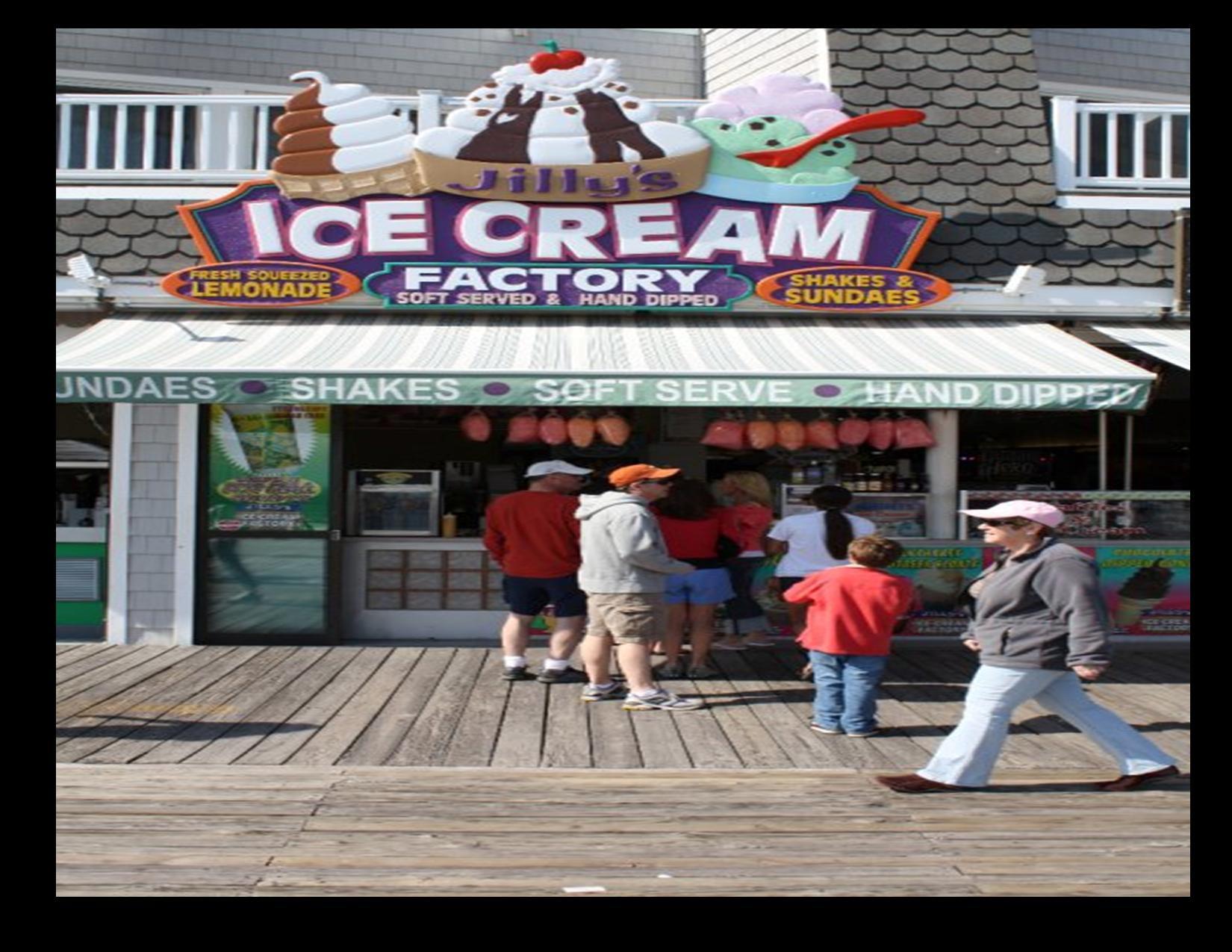 ice cream factory