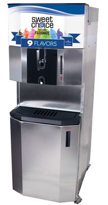 Fuzionate 9 Flavor Ice Cream Machine