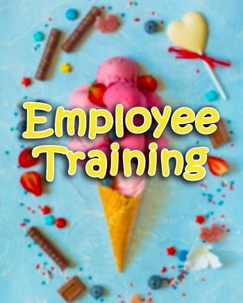 Training Ice cream shop employees