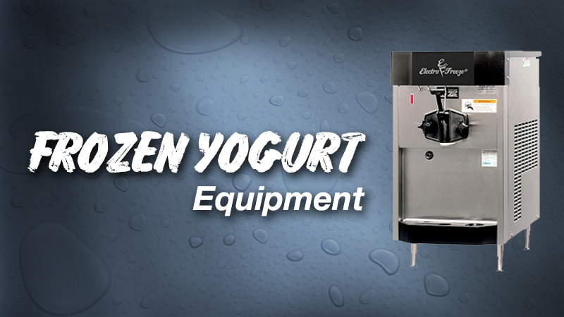 Frozen Yogurt Equipment Concept