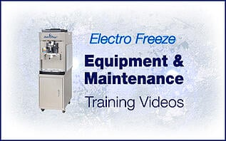 Electro Freeze Equipment Cleaning & Maintenance