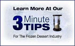 frozen dessert 3 minute tips