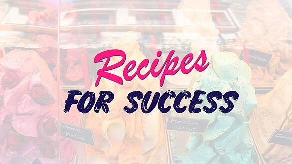 Recipe For Success Concept