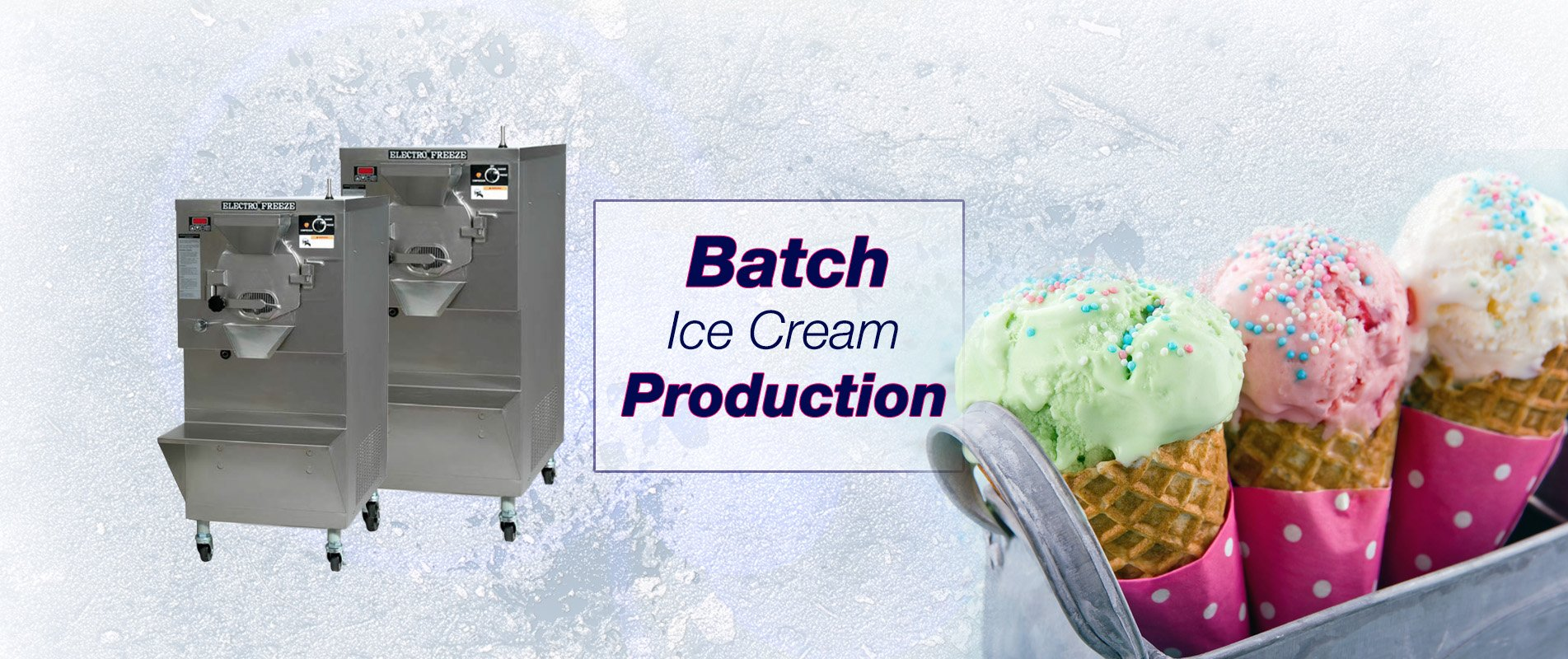 Batch Ice Cream Production